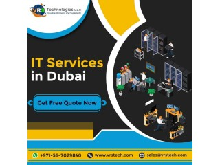 What are Various Solutions offered by IT Services Company Dubai?
