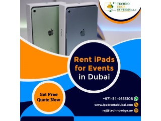 How iPad Hire becomes Beneficial to Users in Dubai?