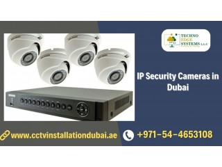 How to Secure Your Home with IP Security Cameras in Dubai?