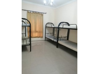 Near to Metro in Bur Dubai Bed Spaces for Male Females Available C/Ac, Inclusive All