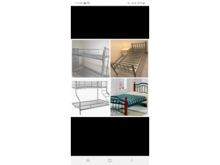 Used bunk beds buying and selling in Al Gharhood 0567172175