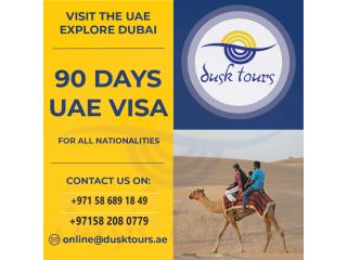 UAE 30 AND 90 DAYS VISA