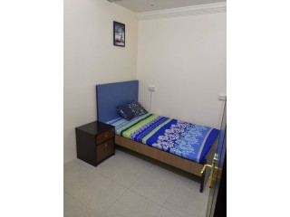Furnished Couples Rooms in @2000 Inclusive All, C/Ac, in Bur Dubai, With Attach Washroom