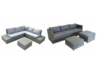 China Rattan Corner Sofa INSHAREFURNITURE