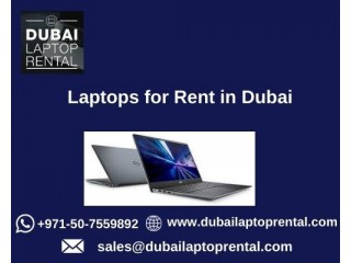 Why to Choose Laptops for Rent in Dubai?
