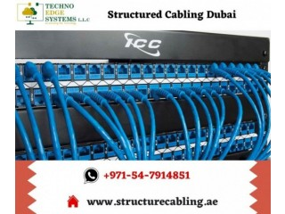 Leading Structured Cabling Service Providing Company in Dubai