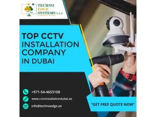 Wireless Security CCTV Camera Installation in Dubai