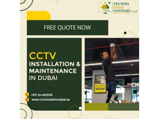 Monitor your Business Activities with CCTV Setup in Dubai