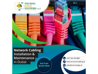 Professional Network Cabling in Dubai at Affordable Price