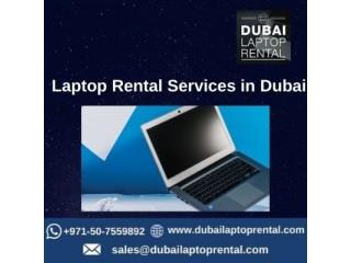 Professional Laptop Rental Services in Dubai