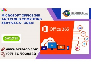 What are the Components of MS Office 365 Cloud Services in Dubai?