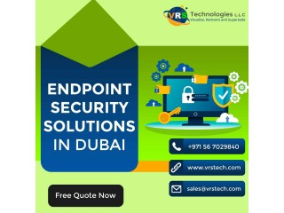 What are the Various Features Endpoint Security offers at Dubai?