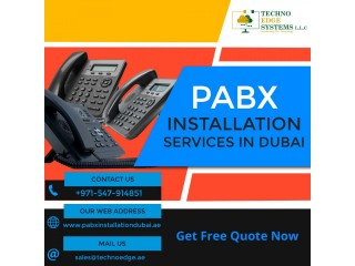 Best PABX Installation Service Providers in Dubai