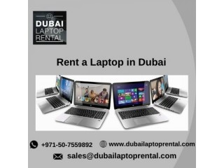 How does Renting a Laptop is Profitable in Dubai?