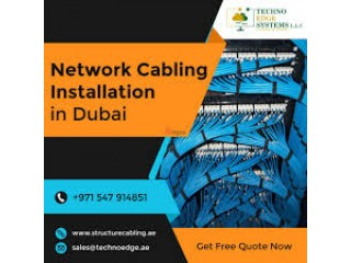 How to Increase Business Efficiency with Network Cabling in Dubai?