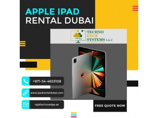 Brand New iPad Hire in Dubai for your Events