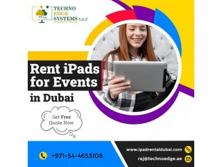 Rent Branded iPads for your Events in Dubai